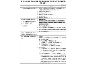 新北市政府教育局因應嚴重性特殊傳染性肺炎防疫工作事項提醒表(家長篇)
